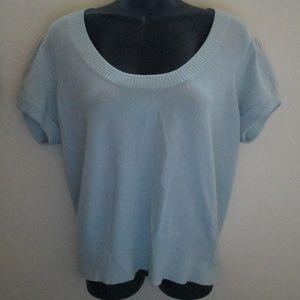 Banana Republic Powder Blue Merino Wool Sweater XL
